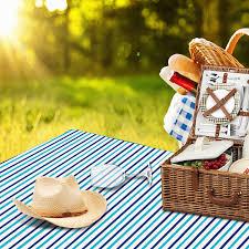 Outdoor Picnic Rug Wolfwise Outdoor Picnic Blanket Waterproof Backing Travel Rugs