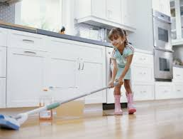 Kitchen Floor Cleaner by Cleaning Skills To Teach Your Child