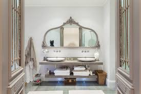 Double Vanity Mirrors For Bathroom by Traditional Mirrors Bathroom Transitional With Ornate Mirror Frame