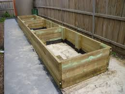 how to construct raised garden beds gardening ideas