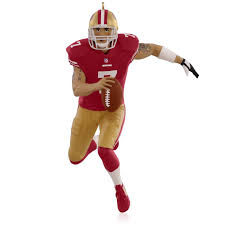 nfl san francisco 49ers colin kaepernick ornament 2015