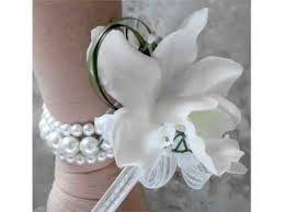 white corsages for prom ideas of white corsage for prom collection
