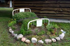 flower bed lights eleven interesting garden bed edging ideas the
