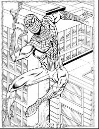 terrific spider man coloring pages with free spiderman coloring