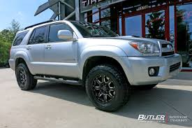 toyota 4runner 2017 black toyota 4runner with 18in black rhino sierra wheels exclusively