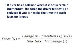 changing momentum l o calculate the change in momentum caused