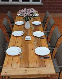 Free Wooden Dining Table Plans by Best 20 Outdoor Table Plans Ideas On Pinterest U2014no Signup Required