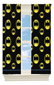 Amazon Living Room Curtains by Amazon Com Warner Bros Batman After Dark Room Darkening Window