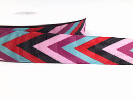 striped grosgrain ribbon diy 1 100 yards 1 25mmv striped grosgrain ribbon hair bow ribbon