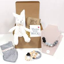 gift hampers for mum and baby from artisan designers mama jewels