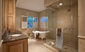 Steam Shower Bathroom Designs Bathroom Interior Master Bathroom With A Spacious Steam Shower