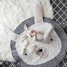 tapis ourson chambre b tatami nouveau mignon 95 cm lapin ours bébé couverture infantile de