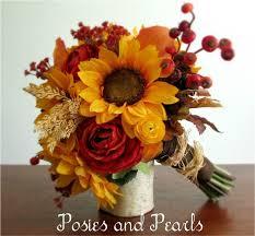 Fall Flowers For Wedding Fall Wedding Bouquets