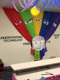 wall decoration disney pixar s inside out themed classroom