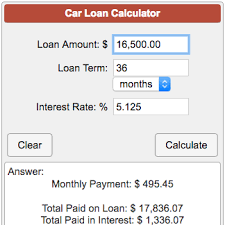 how to calculate monthly loan payments calculators financial car loan calculator png
