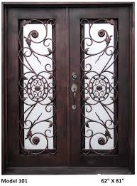 Buy Exterior Doors Online by Double Iron Entry Doors Adamhaiqal89 Com