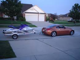 nissan 350z and 370z any pics of 350z towing trailer my350z com nissan 350z and