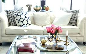 Decorating Coffee Tables Coffee Table Decorating Funky Asymmetric Table With Geometric