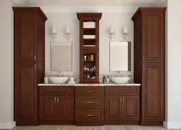signature chocolate pre assembled kitchen cabinets the pre assembled bathroom vanities bathroom vanities all home cabinetry