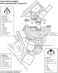 Walt Disney World Transportation Map by Swan And Dolphin Map Kennythepirate Com An Unofficial Disney