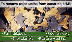 don u0027t struggle here u0027s how you can easily remove paint from concrete