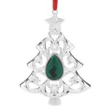 gemmed tree lenox ornament