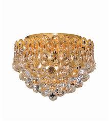 gold flush mount light elegant lighting 1901f10g sa century 3 light 10 inch gold flush