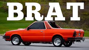 subaru brat for sale 2015 1987 subaru brat might be the weirdest car ever made
