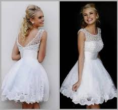 all white graduation dresses white graduation dresses for grade 8 2017 2018 newclotheshop