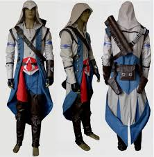 assasins creed halloween costume new another me assassin u0027s creed iii connor kenway cosplay costume