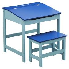 reading table and chair childrens kids wooden study home work writing reading table desk