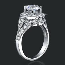halo engagement ring settings only ring settings halo halo channel set