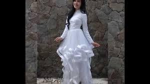 wedding dress muslimah white muslimah wedding dress nely afifi
