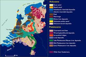 netherlands beaches map rhine meuse delta studies