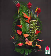 honolulu florist beretania florist beretania s king tropical arrangement honolulu