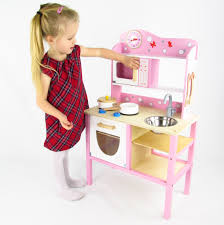 wooden country play kitchen