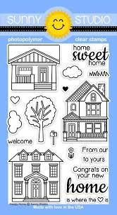 Happy Home Products Sunny Studio Stamps Happy Home Stamps