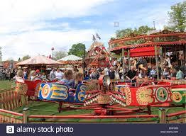 mini octopus ride s steam fair traditional historic stock
