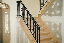 Indoor Banister Indoor Railing R U0026 G Wrought Iron Railing