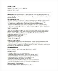 Web Content Manager Resume Basic It Resume Templates 27 Free Word Pdf Documents Download