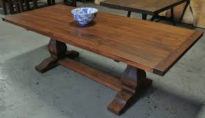 what is a trestle table french trestle table with breadboard ends lorimer workshop