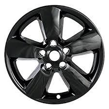 dodge ram with black rims amazon com 2013 2014 2015 dodge ram 1500 20 black wheel skins