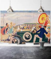 french riviera wall mural from the erstwhile collection by milton french riviera wall mural from the erstwhile collection by milton king