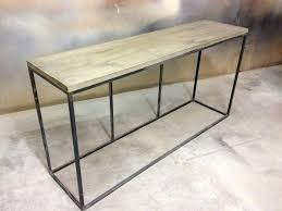 Modern Sofa Tables Modern Sofa Tables Rustic Modern Sofa Or Table With Metal