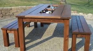 Outdoor Patio Furniture Reviews by Table Patio Backyard Furniture Amazing Wood Patio Table Outdoor