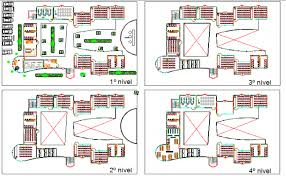university floor plan floor plan architecture layout plan dwg file