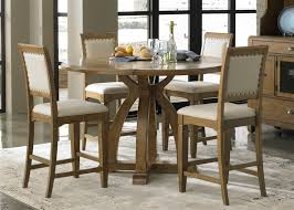 counter height gathering table country counter height gathering table 5 piece dining set in