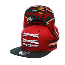 lace headwear minnesota locker room snapback lacer headwear