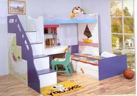 White Bunk Bed With Stairs Bedroom Dazzling Bedroom Bunk Beds With Stairs And Desk And