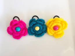 baby hair ties ponytail set knit hair ties crochet hair ties toddler